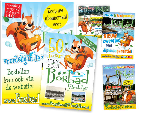 affiches, flyers, folders en brochures